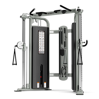 Spirit Fitness ST800FT Functional Trainer showing all positions.