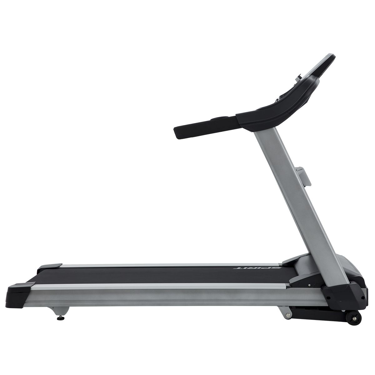 Right side/back view of the Spirit Fitness XT685 treadmill