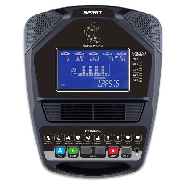 Spirit Fitness CS800 Console