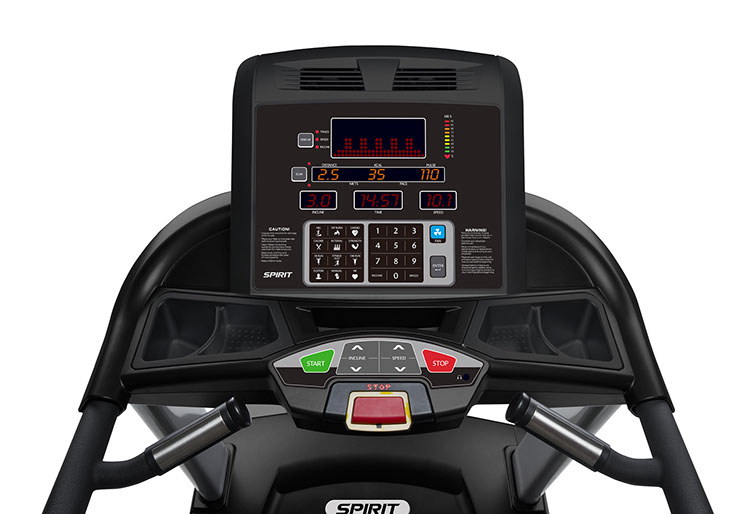 Spirit Fitness CT850 Console