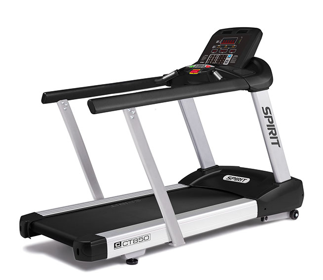 Spirit Fitness CT850 with medical rails