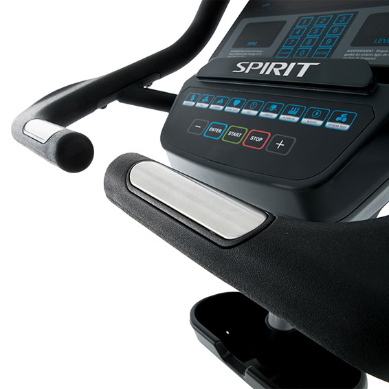 Spirit Fitness CU900 ENT pulse grips