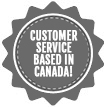 Customer service based in Canada!