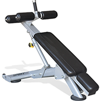 Spirit Fitness Commerical ST900DB Decline Bench.